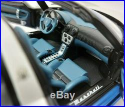 118 AUTOart Signature Maserati MC12 Blue/White 75801 BOXED + REG PLATES
