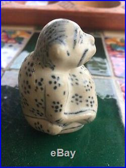 15th C Annamese Blue &White Monkeys Water dropper from Hoi An hoard shipwreck