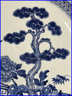 16 Rare Antique Chinese Kangxi Blue And White Charger Plate
