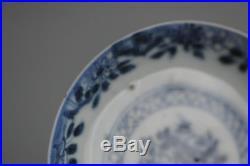 18C Kangxi/Yongzheng Chinese Porcelain Blue & White Saucer / Small Plate