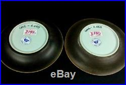 18 C. Chinese YongZheng Blue & White Porcelain Plates with Southey's Auction Tags