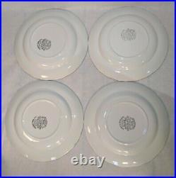 24 Piece J & G Meakin Merrie England Dinner Plate Soup Bowl Dessert Plate Set