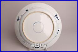 28.5 cm Antique Chinese Porcelain Blue&White Dish, Period Kangxi 1662-1722