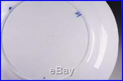 4 Antique Pearl Ware Pottery Thomas Dimmock Blue & White 10 1/2 Dinner Plates A