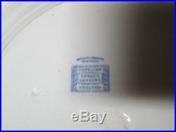 4 Copeland Spode's Seasons Blue & White Dinner Plates England 10 3/8