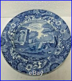 6 Pieces Copeland Spode's Italian Style Blue & White England Plates 6 1/2 Inches