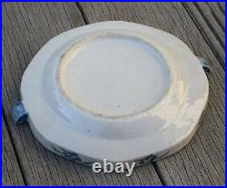 A Chinese Export Ware Blue & White Warming Plate Dish Qianlong #3