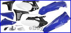 Acerbis Plastic Kit 2010-13 Yamaha YZ450F Fenders Shrouds Side # Plates