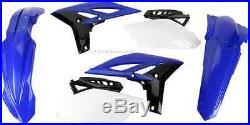Acerbis Plastic Kit 2010-2013 Yamaha YZ250F Fenders Shrouds Side # Plates