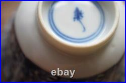 An Antique Chinese Blue & White teacup and saucer Kangxi period #615