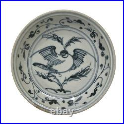 Anamese blue and white ceramic plate from Hoi An hoard