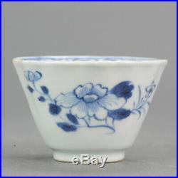 Antique 18C Kangxi Qing Chinese Bowl Porcelain China Blue White