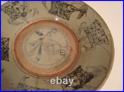 Antique Chinese Blue and White Charger 10, 16th C, Ming Dynasty