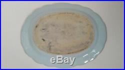 Antique Chinese Export Blue & White Porcelain Platter 13 inches, A1. Ref. 2250