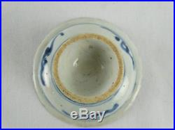 Antique Chinese Ming Dynasty Blue & White ceramic offering plate China