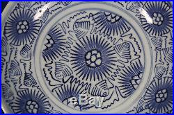 Antique Chinese blue and white porcelain dish (plate) China 18th 19th century