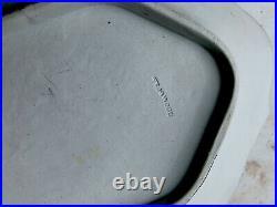 Antique Wedgwood Blue White Jasperware Tray Plate