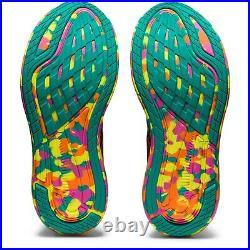 Asics Womens Gel Noosa Tri 13 Pink White Yellow Running Shoes Size 1012B010-700