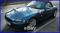 BMW Z4 2.0 Sport FSH 2006 56 plate Blue with White Leather