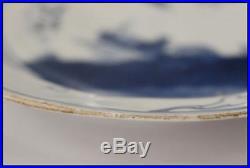 CCVP03 Kosometsuke chinese Blue & white porcelain plate Ming era imari cobalt