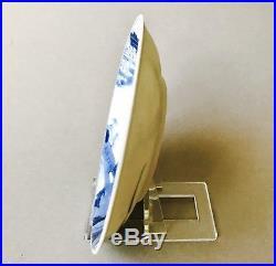 Ca Mau Chinese Shipwreck Cargo Blue & White Porcelain Saucer Dish Plate C. 1725