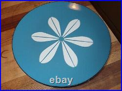 Catherineholm Blue & White Lotus Charger Serving Plate 10 Mid Century Modern