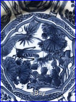 Chinese Wanli Period Blue and White Kraak Porcelain Dish