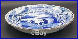 Christies Sale, Antique Japanese Porcelain Blue And White Plate, Signed