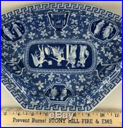 Copeland Spode Greek blue and white Service Plate with Lid