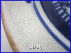 Dora De Larios 4 Rare White House Plates, Ca. Studio Art Pottery 1978 Comission