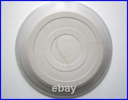 Dora De Larios Rare White House Plate, Ca. Studio Art Pottery 1978 Comission