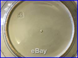 Early Japanese Signed Arita Ko-Imari Chinese Blue White Ceramic Porcelain Charge