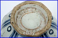Fabulous Poss Yuan Dynasty Vase Antique Chinese Blue White