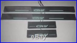 Honda CRV 07 11 LED Door Sill Cuff plate panel Light 4pcs RED, WHITE, BLUE FULL