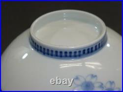 Japanese Blue & white NABESHIMA PLATE 2 EDO 5.9 × 1.8 240g