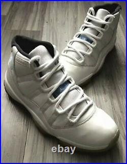 Jordan 11 XI Retro Shoes Legend-blue/white/black (378037-117) Mens Size 10.5