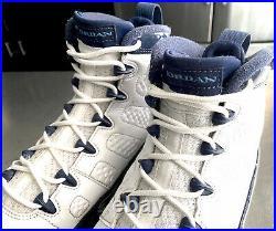 Jordan 9 IX Retro Unc White/navy-blue Mens Size 8.5 (302370-145)