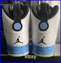 Jordan Ajf 9 Fusion Best Of Both White/black/carolina-blue Mens 11 (352753-101)