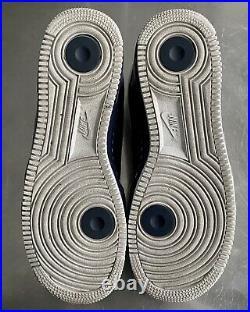 Jordan Fusion Ajf 9 Low White/metallic-blue Mens Size 11 (362279-141)