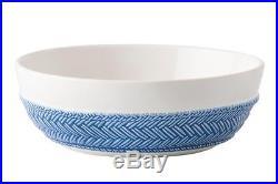 Juliska Le Panier White/Delft Blue Pasta/Soup Bowl Set of 4