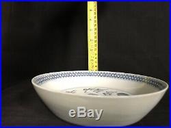 Kangxi Blue White Lucky Beast Porcelain Plate OldChineseEstateSaleNorthYork