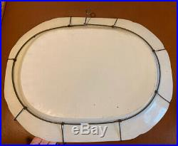 Large Chinese Export Blue White Platter 19th Century 19