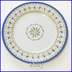 Limoges HAVILAND Val de Loire Blue Edge Dessert Plates 8.5, Priced For Set Of 6