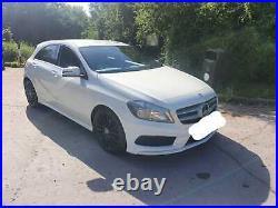 Mercedes A Class Blue-ey Amg Line 63 plate
