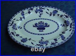 Minton's'Delft' Pattern Blue & White Table Serving Plate