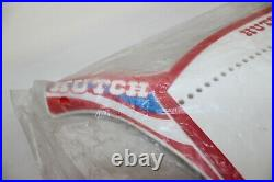NOS HUTCH BMX NUMBER PLATE SEALED PACKAGE RED WHITE BLUE Original 80s
