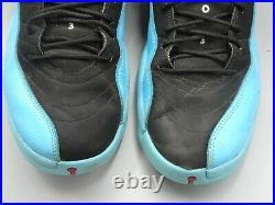 Nike Air Jordan 12 XII Retro Black Gym Red Gamma Blue White SZ 11 130690-027