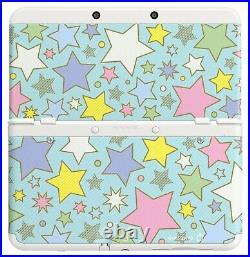 Nintendo 3DS Kisekae plate pack Colorful star Console Japan