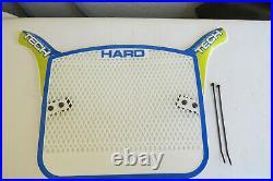 Nos Haro Tech Number Plate Digital Circut Board Panel Bmx White Blue Yellow