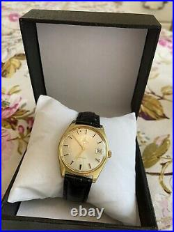 Omega Vintage 1968 GENEVE Automatic Cal 565, 24 Jewels, 20 Microns Gold Plate